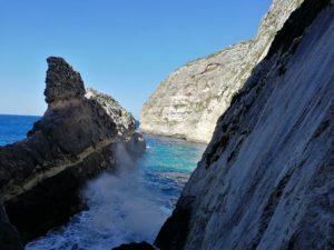 Tolle Aussicht aufs Meer in Ix-Xaqqa