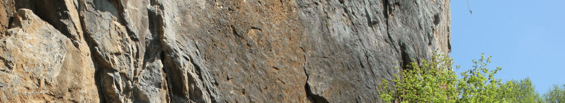 Klettern Borghauser Wand