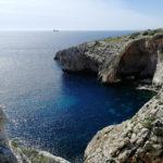 Aussicht auf Blue Grotta