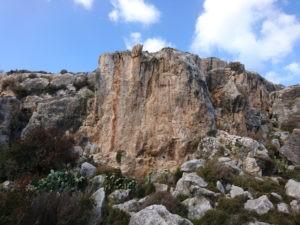 Eines der schönsten Klettergebiete auf Malta - Irdum Irxaw