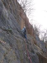 Klettergebiet Borghauser Wand
