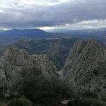 Aussicht Gipfel El Chorro