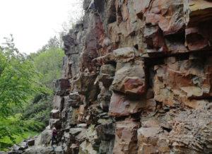 Felsstruktur
