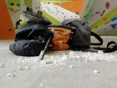 Chalk, Chalkbag und Magnesiabeutel