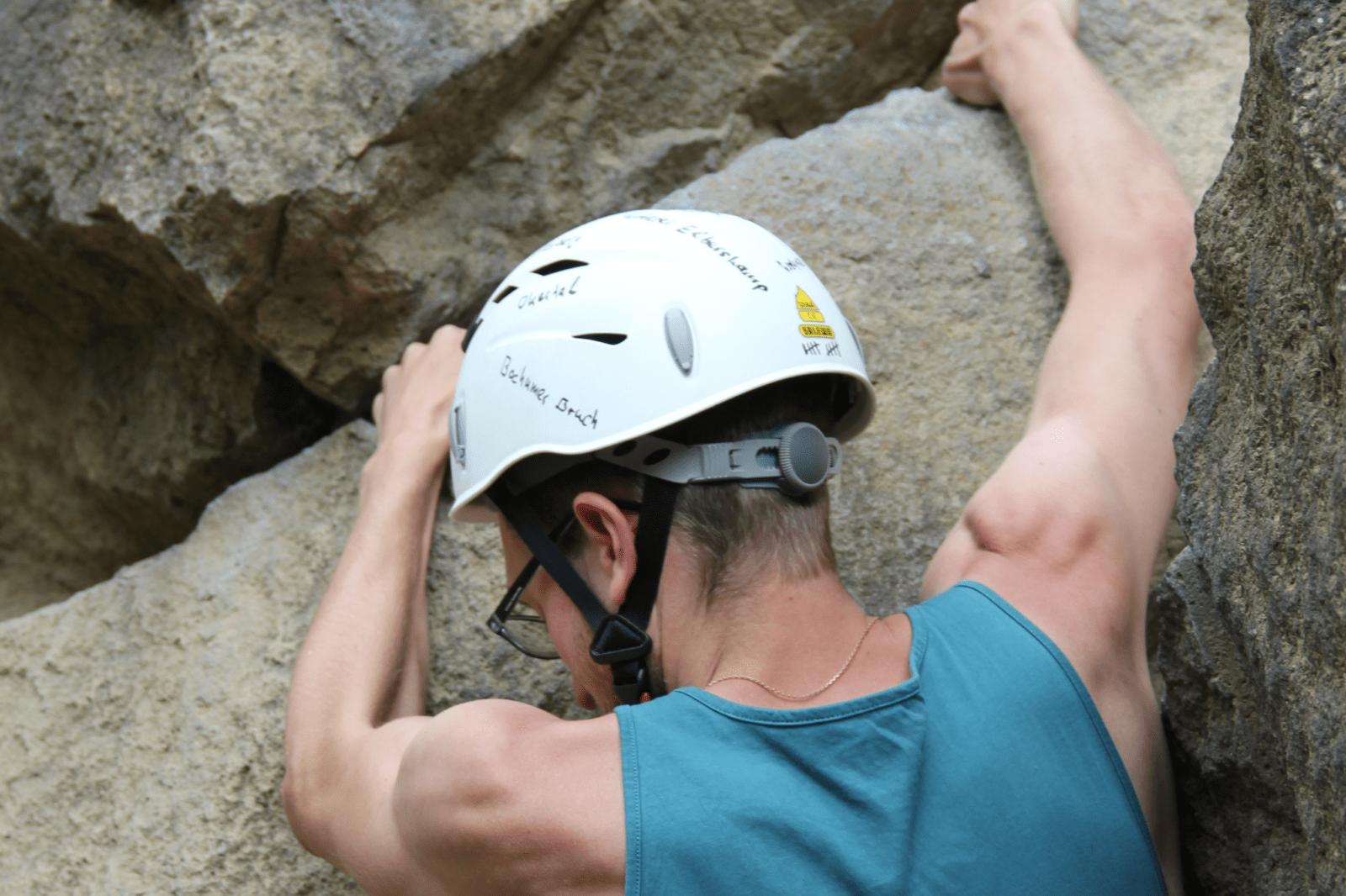 Kletterhelm, Kletterhelme, Bergsteigerhelm, Bergsteigerhelme, Helm zum Klettern, Hartschalenhelm