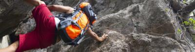 Kletterrucksack, Kletterrucksäcke, Rucksack zum Klettern, Rucksack für Klettermaterial, Treckingrucksack, Wanderrucksack
