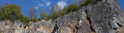 Klettergebiet Hillenberg in Warstein