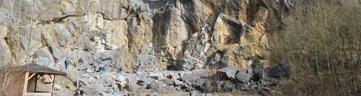Warstein Hillenberg klettergebiet