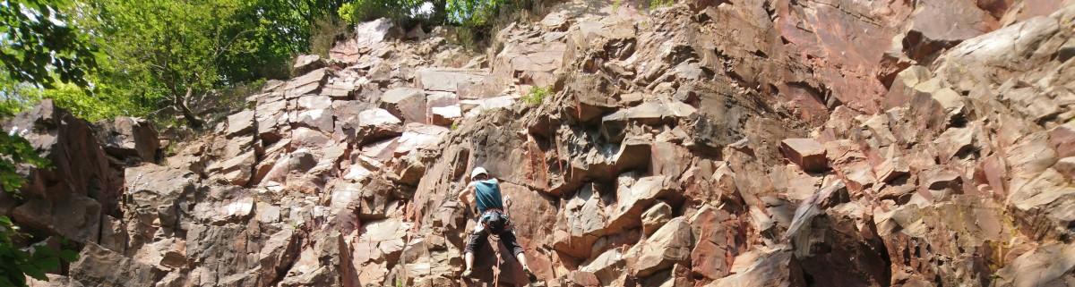 Klettern im Scharpenbeul