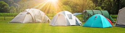 Zelte im Überblick