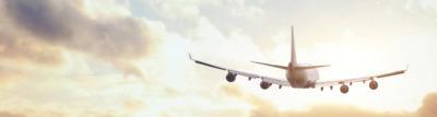 Kletterausrüstung im Flugzeug