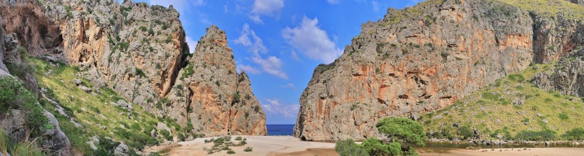 Klettern auf Mallorca am Meer