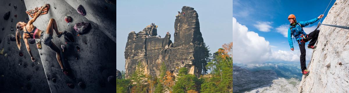 Bouldern klettern klettersteig