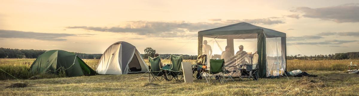 Familienzelt Camping