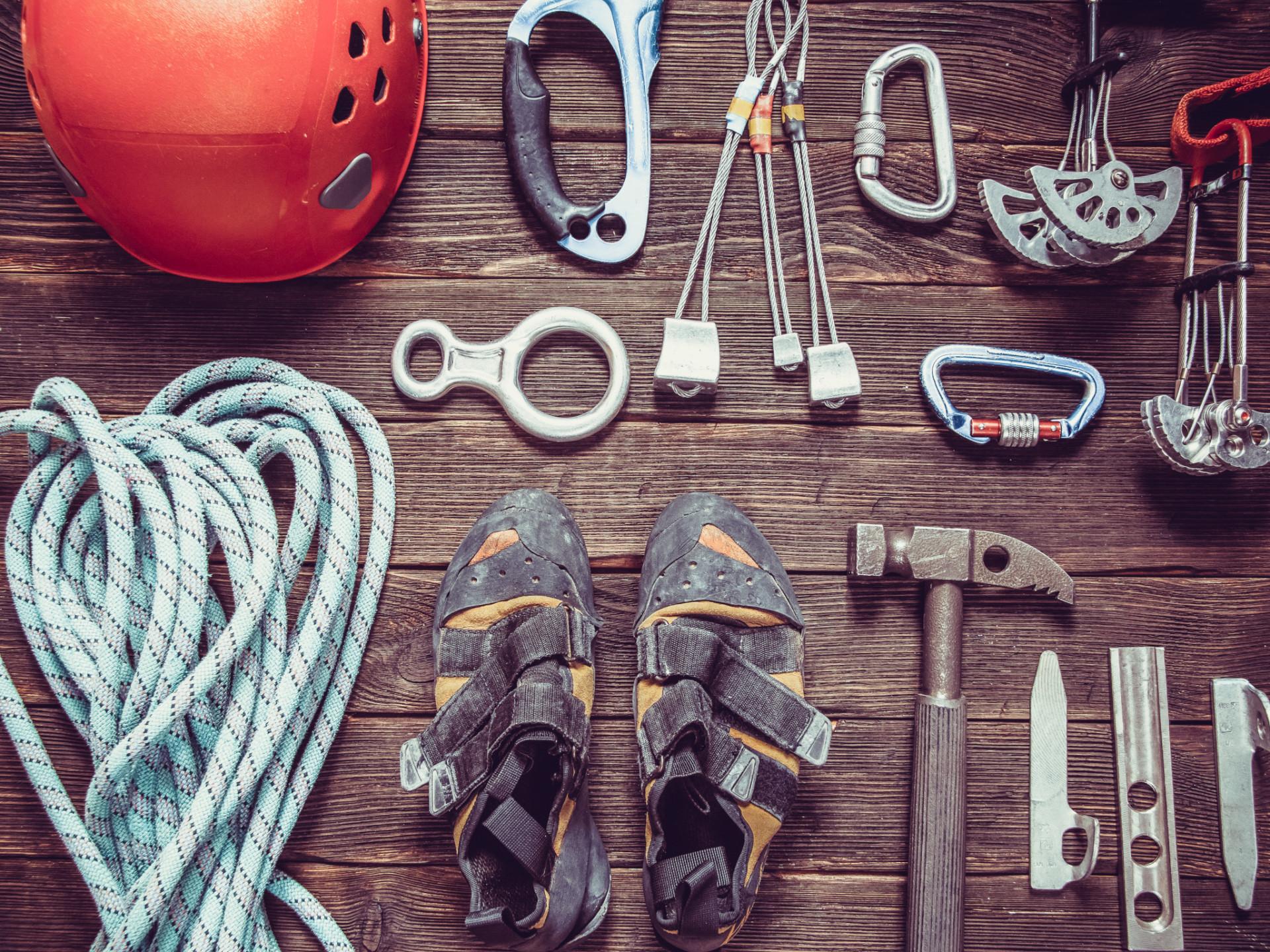 Kletterausrüstung im Überblick