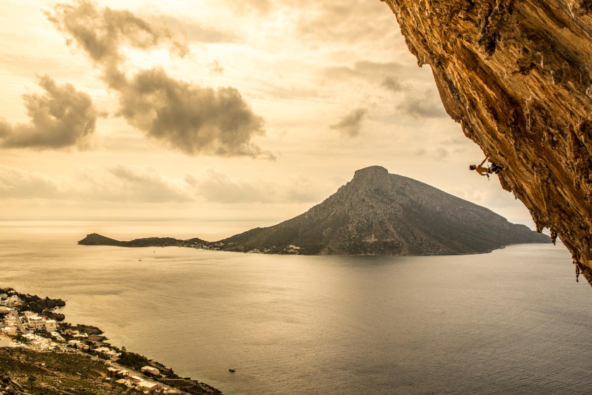 Sportklettern und Klettern auf Kalymnos