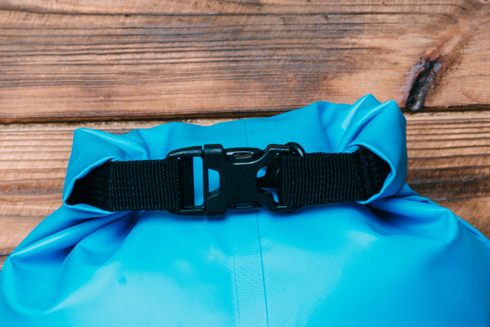 Verschluss eines Dry Bag