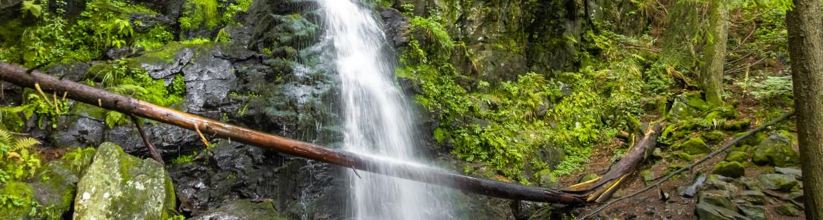 Zweribach Wasserfall wandern