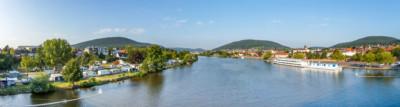 Camping in Deutschland am Fluss