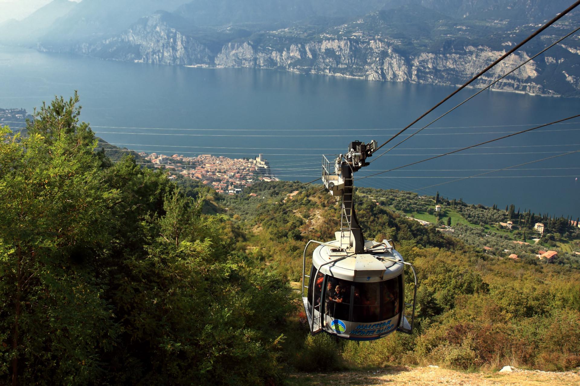 Monte Baldo Seilbahn Malcesine Gardasee