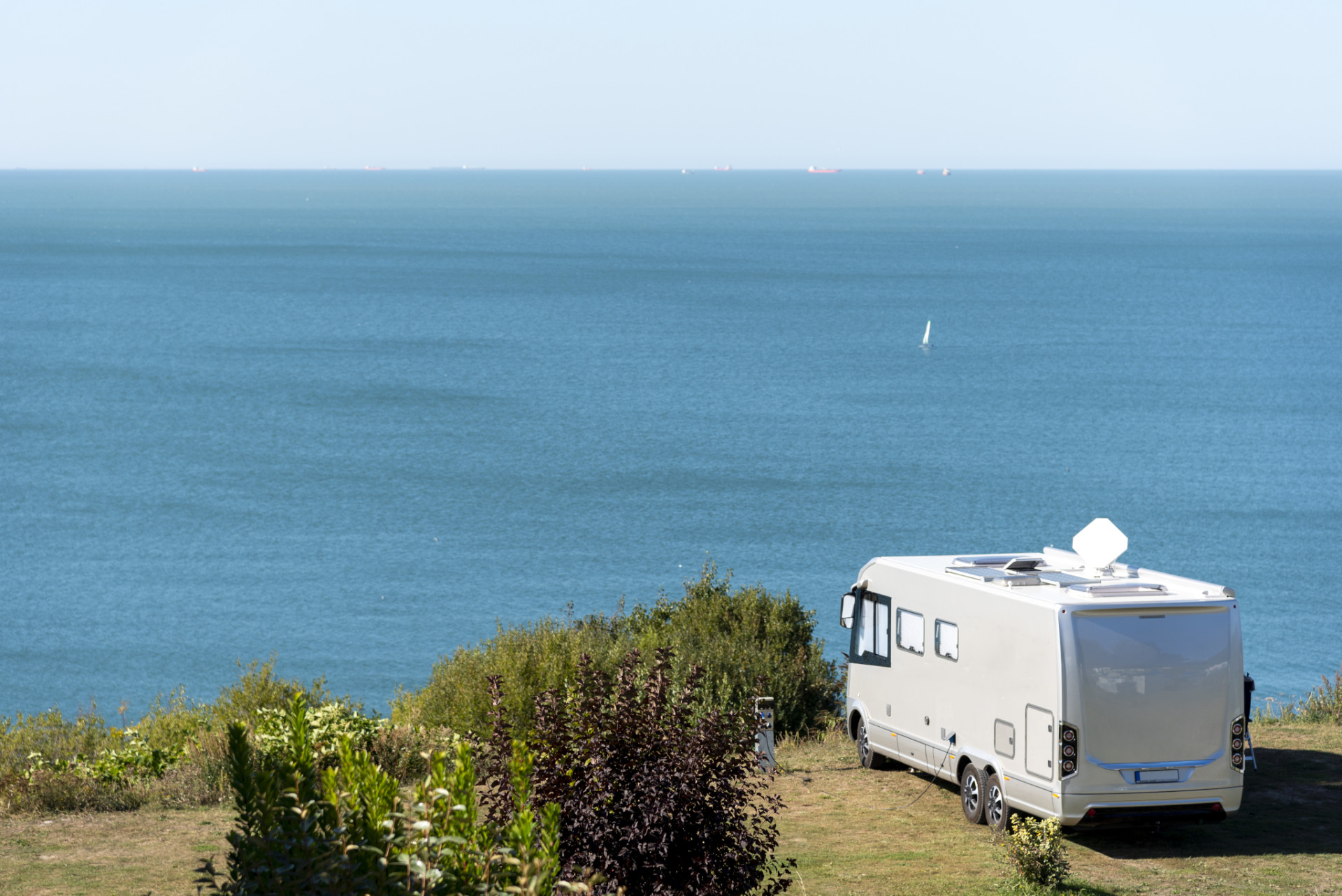 Camping in Frankreich am Meer