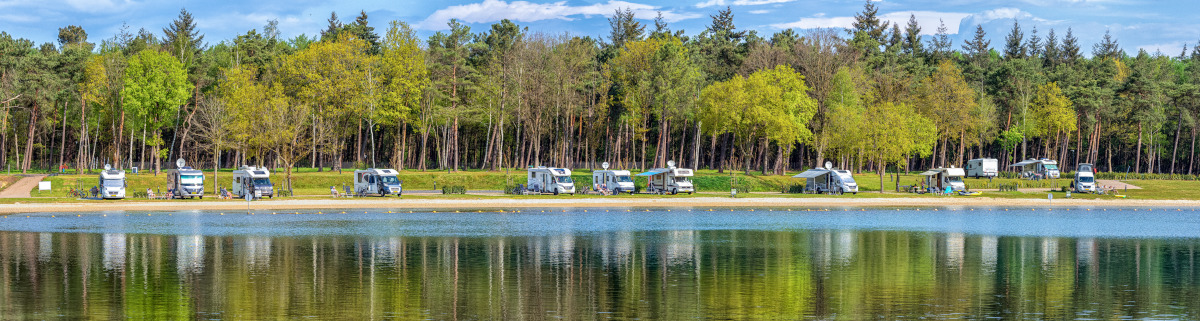 Camping in Holland am Meer