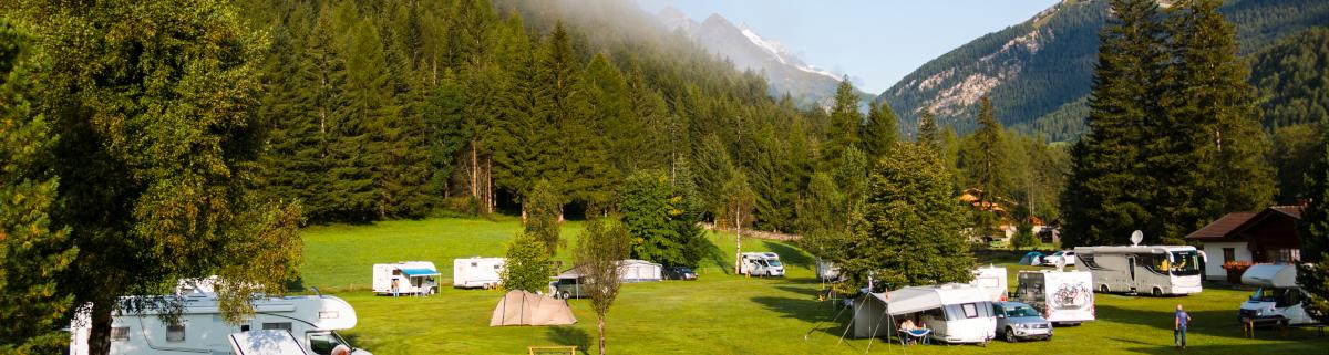 Campingplatz in Österreich