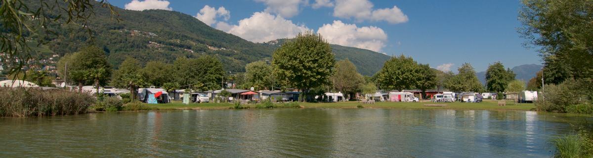 Campingplatz in der Schweiz
