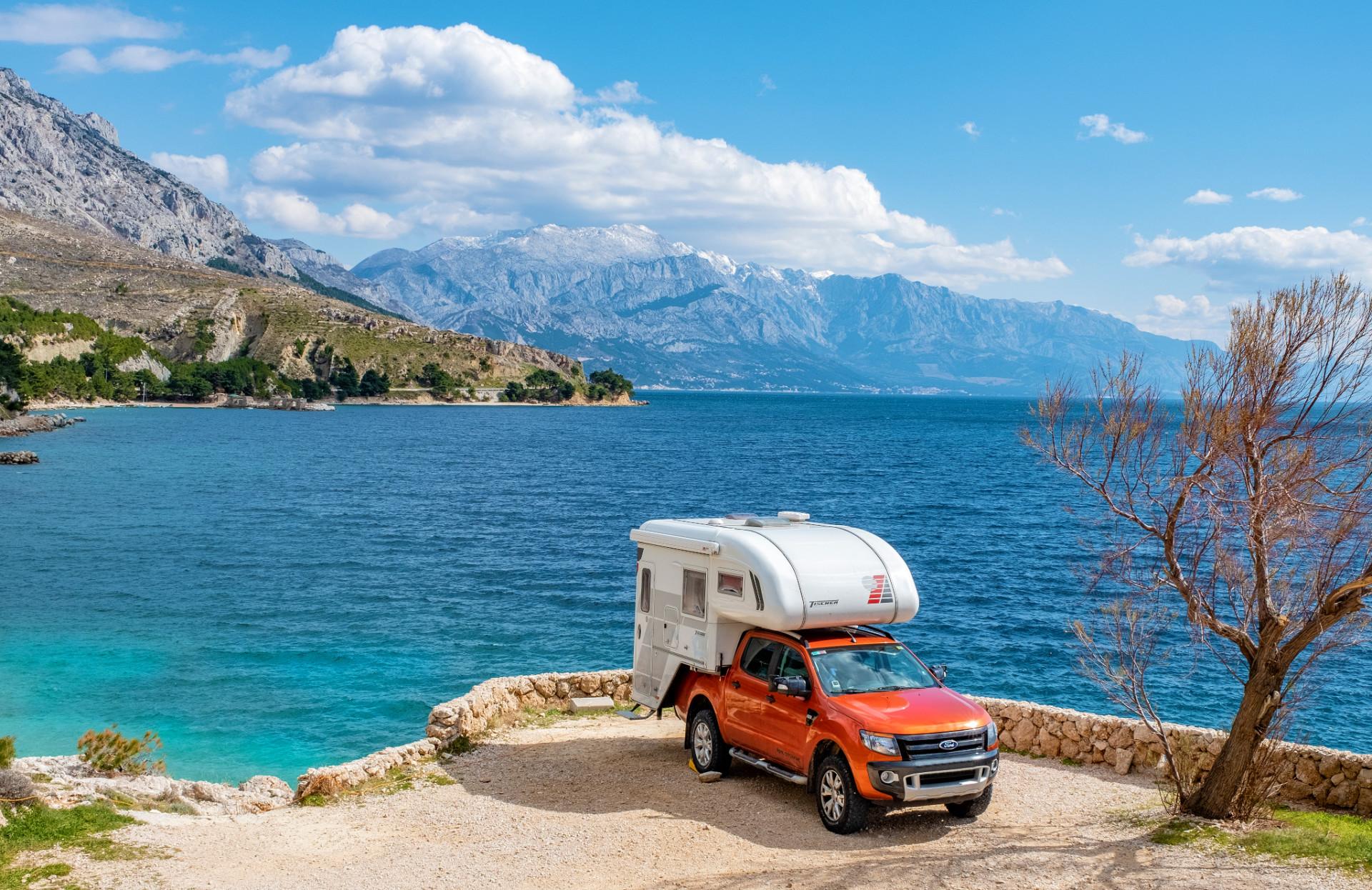 Küste in der Region Dalmatia in Kroatien