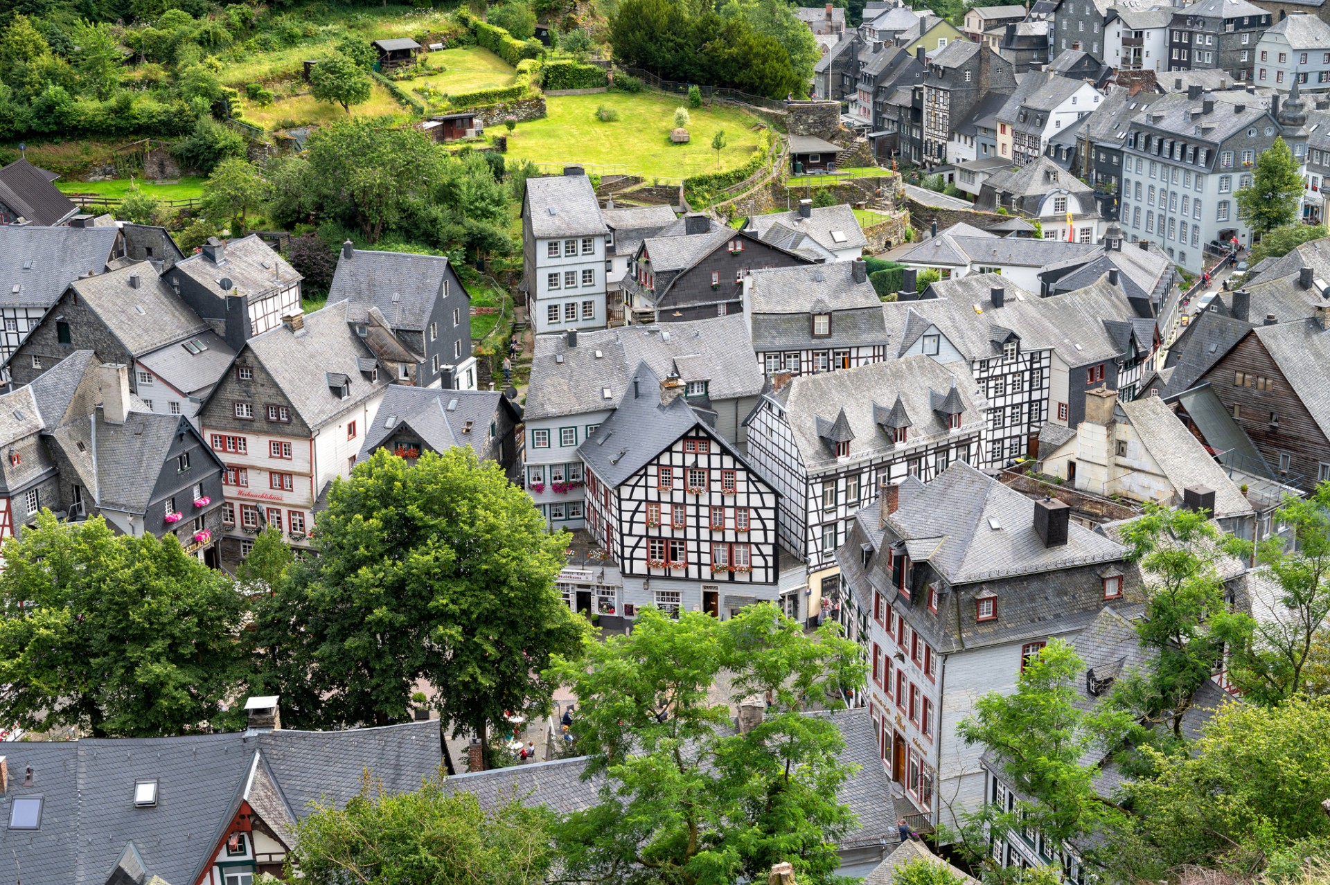 Monschau in der Eifel