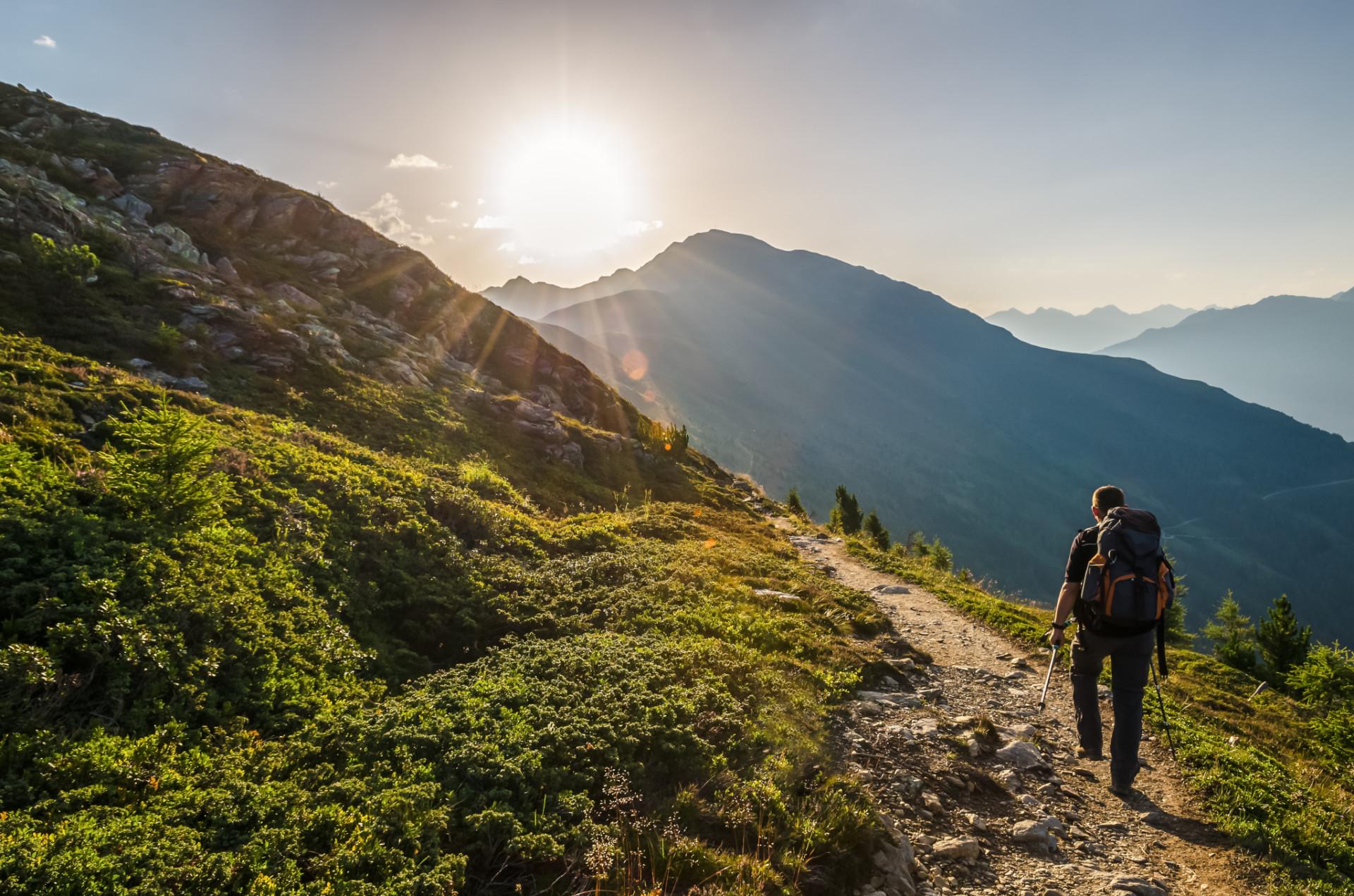 Wandern in Österreich Lechtaler Alpen
