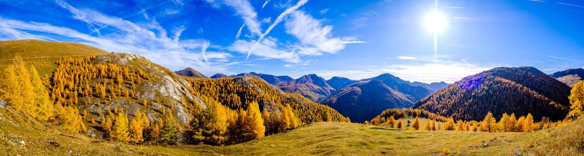 Wandern in Österreich Berge