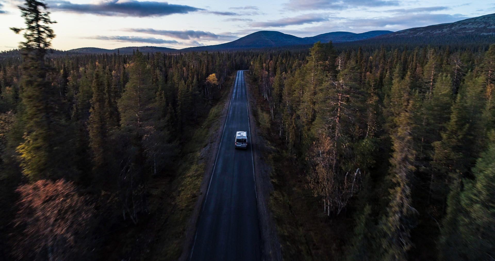 Mit dem Camper durch die Natur Schwedens