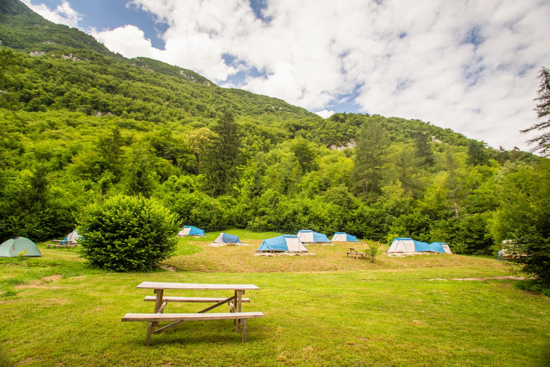 Camping in Slowenien - Eco camp Resort