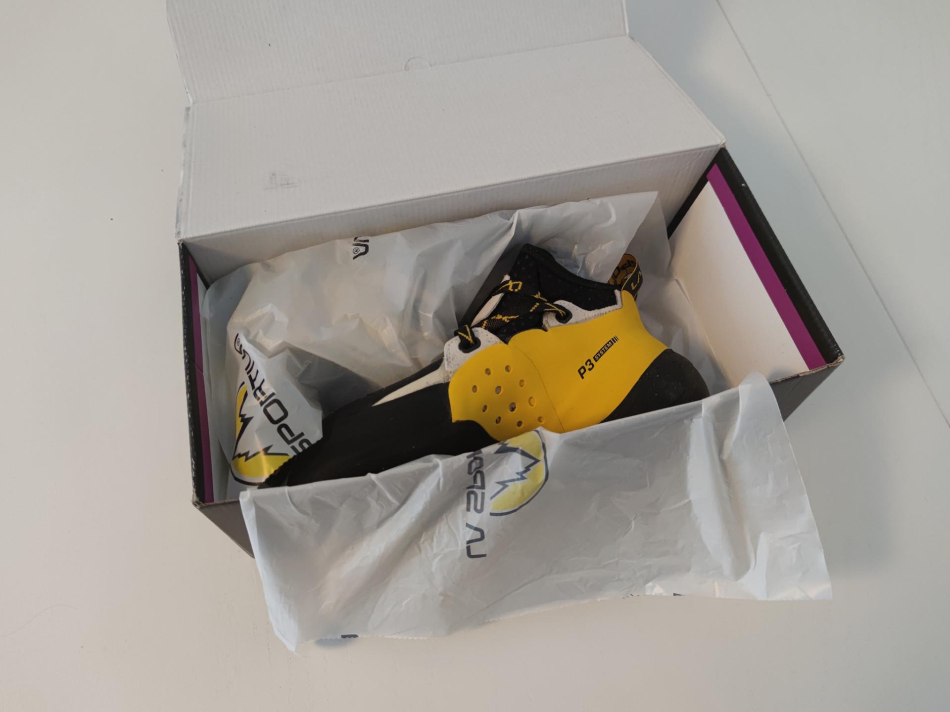 La Sportiva Solution im Schuhkarton