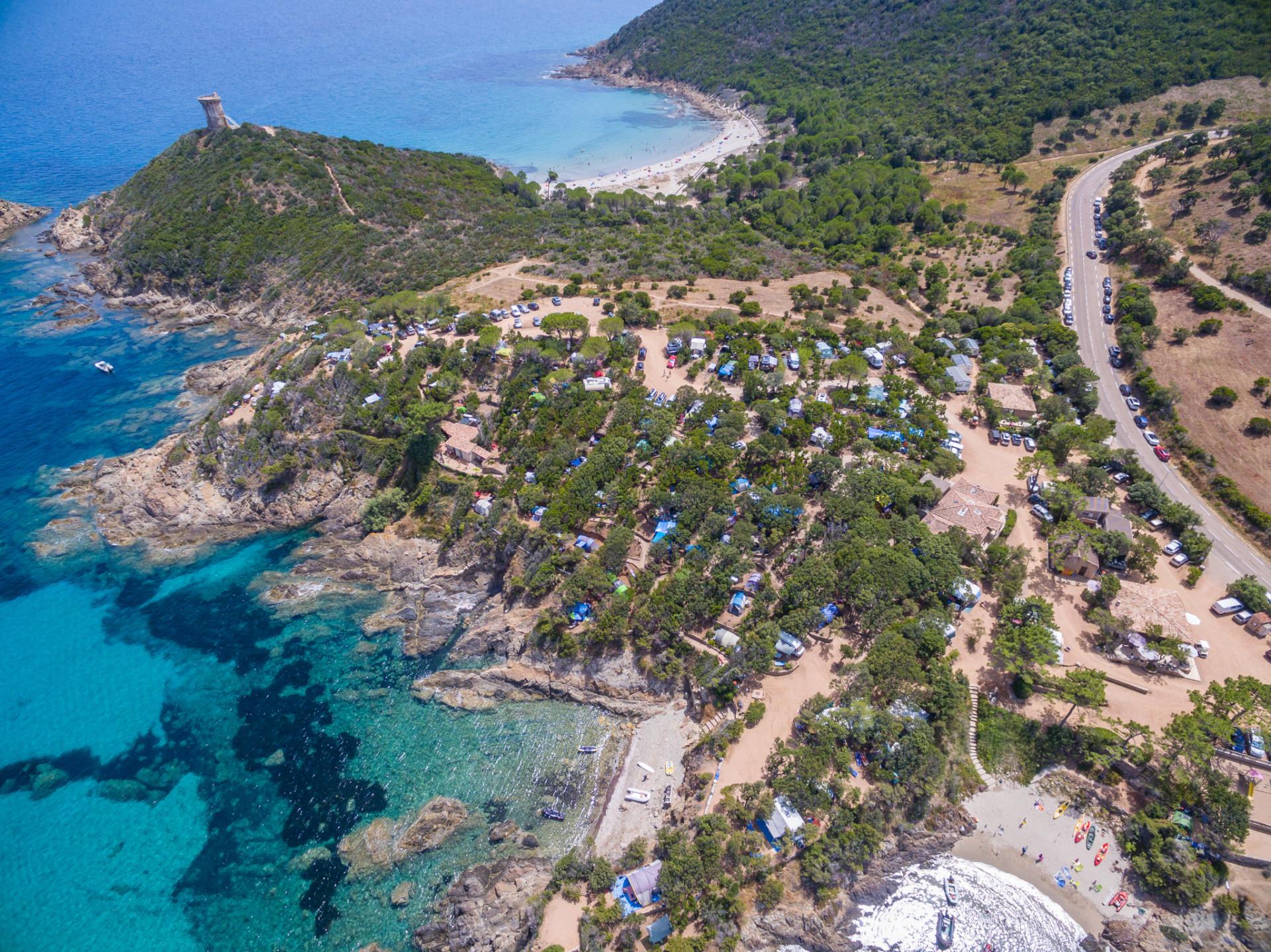 Camping an der Ostküste auf Korsika
