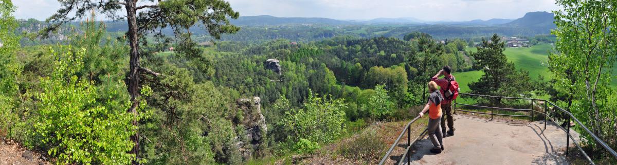 Wandern im Elbsandsteingebirge Malerweg